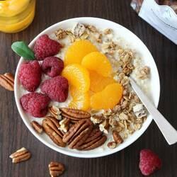 Пазл онлайн: Полезный завтрак