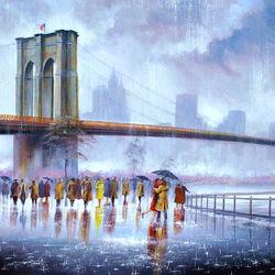 Пазл онлайн: Любовь под мостом
