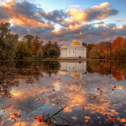 Пазл онлайн: Царское село. Октябрь