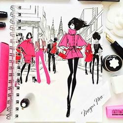 Пазл онлайн: Городские модницы