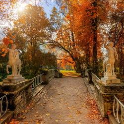 Пазл онлайн: Осень в Санкт-Петербурге