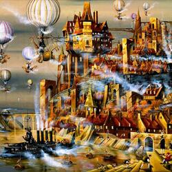 Пазл онлайн: Волшебная сила пара
