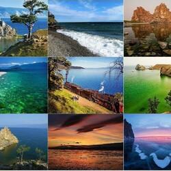 Пазл онлайн: Величественный Байкал