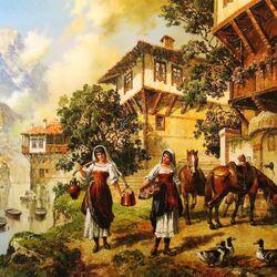 Пазл онлайн: Охрид