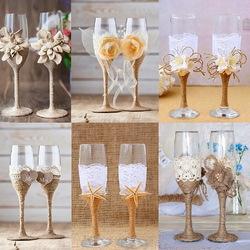 Пазл онлайн: Свадебные бокалы