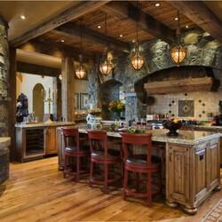 Пазл онлайн: Кухня в средневековьем стиле