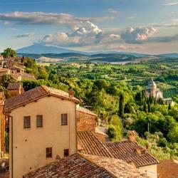 Пазл онлайн: Тоскана