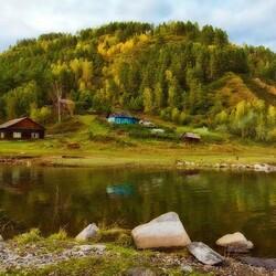Пазл онлайн: Сибирская пастораль