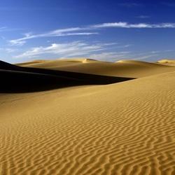 Пазл онлайн: Барханы пустыни