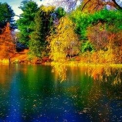 Пазл онлайн: Осень в Квебеке