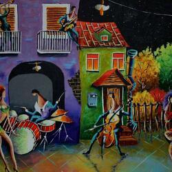 Пазл онлайн: Танцующая осень