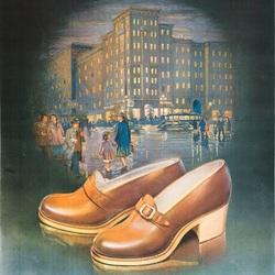 Пазл онлайн: Модельная обувь