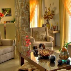 Пазл онлайн: Интерьер гостиной