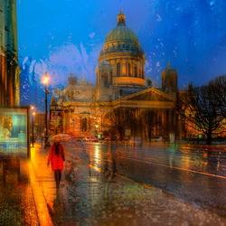 Пазл онлайн: Холодная весна