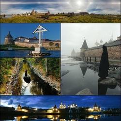 Пазл онлайн: Соловецкая обитель