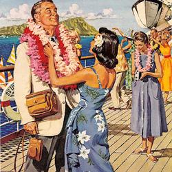 Пазл онлайн: Отпуск на Гаваях
