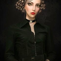 Пазл онлайн: Викторианская кукла