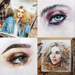 Пазл онлайн: Рисунки