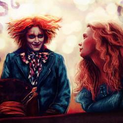 Пазл онлайн: Алиса и Шляпник