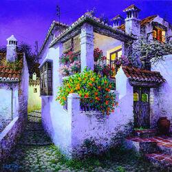 Пазл онлайн: Балкон