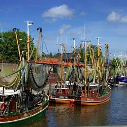 Пазл онлайн: Рыболовные судна