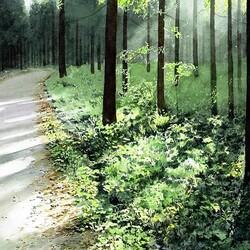 Пазл онлайн: На прогулке