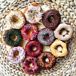 Пазл онлайн: Пончики
