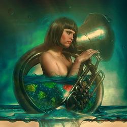 Пазл онлайн: Симфония воды