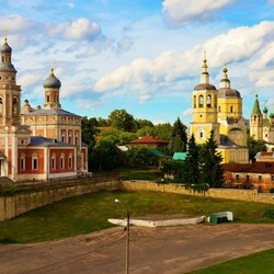 Пазл онлайн: В городе Серпухове