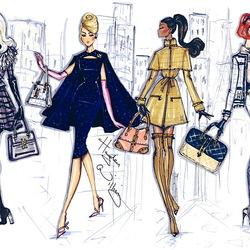 Пазл онлайн: Модницы в городе