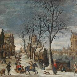 Пазл онлайн: Аллегория зимы