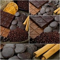 Пазл онлайн: Шоколада много не бывает