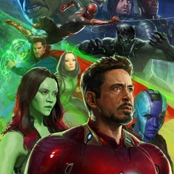 Пазл онлайн: Мстители: Война бесконечности