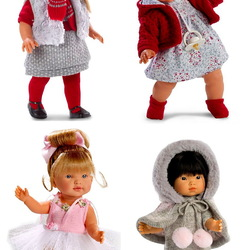 Пазл онлайн: Куклы ручной работы