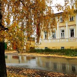 Пазл онлайн: Тихая осень