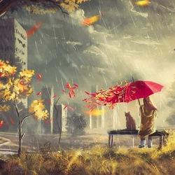 Пазл онлайн: Осенняя депрессия