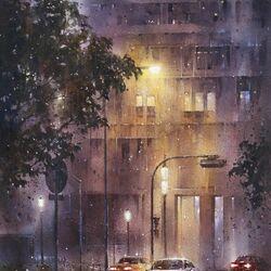 Пазл онлайн: Симфония дождя