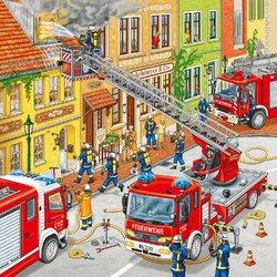 Пазл онлайн: Пожар