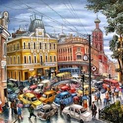 Пазл онлайн: Петровские ворота