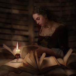 Пазл онлайн: Время книг
