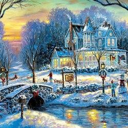 Пазл онлайн: Рождественское чудо