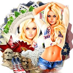 Пазл онлайн: Мисс Америка