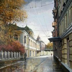 Пазл онлайн: Сентябрь в Москве