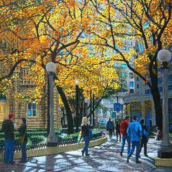 Пазл онлайн: Осенний свет