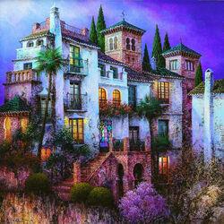 Пазл онлайн: Дом мавританского короля