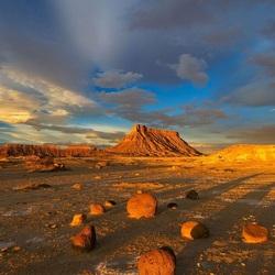 Пазл онлайн: Тени от солнца
