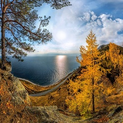 Пазл онлайн: Красота Байкала