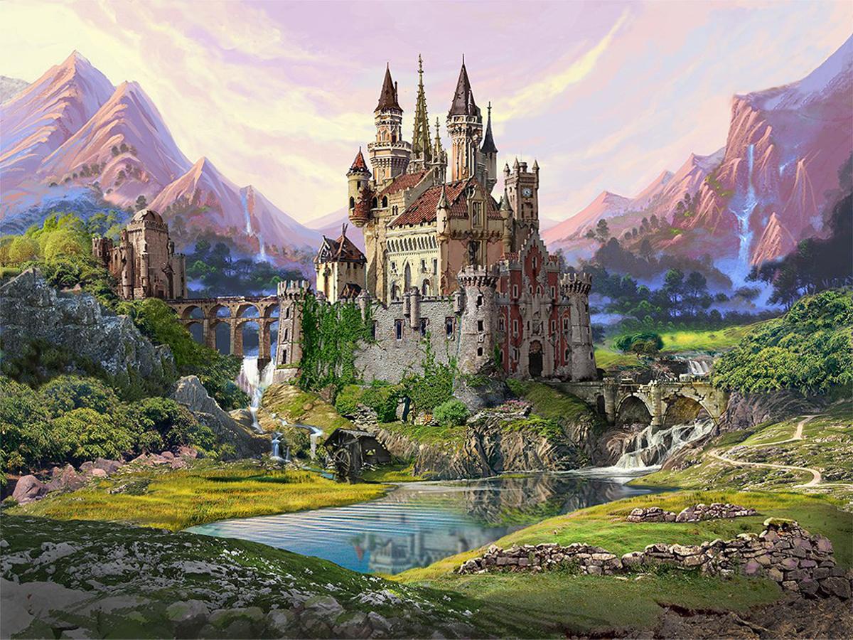 красивые картинки сказочный замок главной