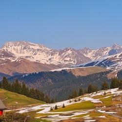 Пазл онлайн: Выходные в горах