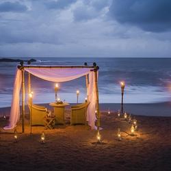 Пазл онлайн: Романтический вечер у моря